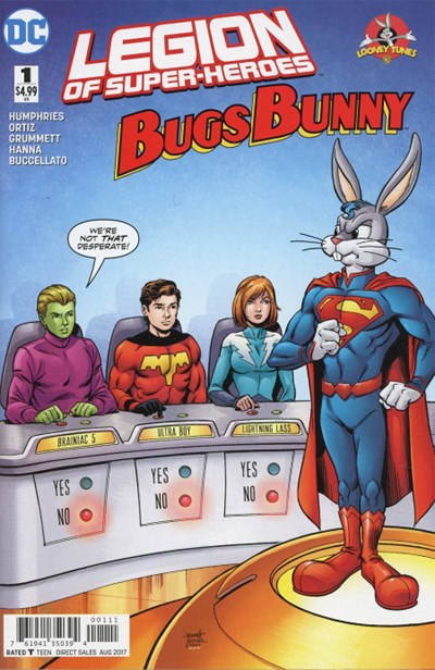 DC Comics - Legion Of Super-Heroes/Bugs Bunny #1(oferta capa protetora)