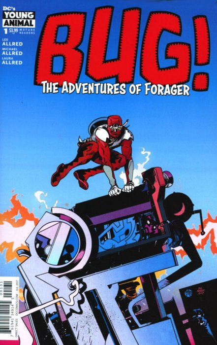DC Comics - Bug: The Adventures of Forager #1 (oferta capa protetora)