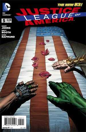 DC Comics - Justice League of America #5 (oferta capa protetora)