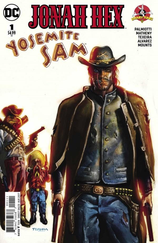 DC Comics - Jonah Hex / Yosemite Sam Special #1 (oferta capa protetora)