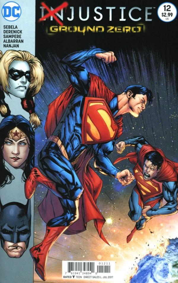 DC Comics - Injustice: Gods Among Us - Ground Zero  (oferta capa protetora)