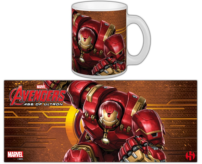 Caneca Marvel's The Avengers Age of Ultron - Hulkbuster IronMan
