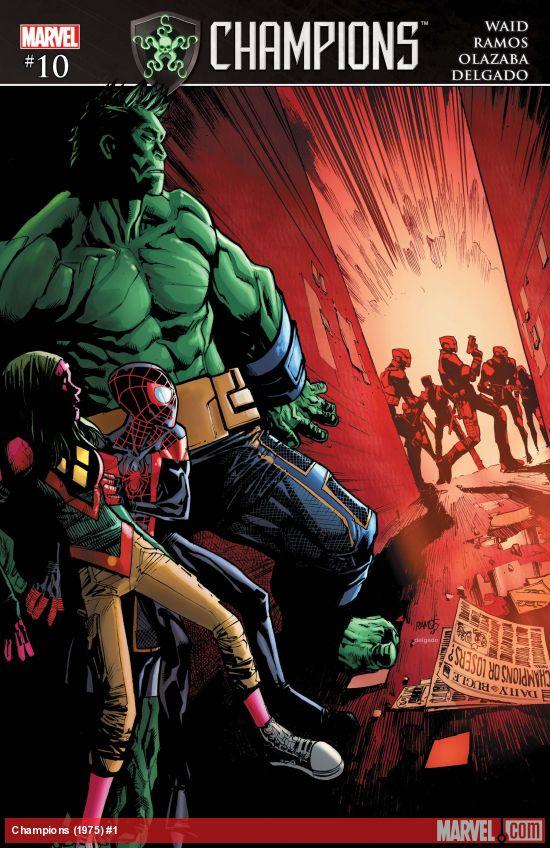 Marvel Comics - Champions (2016) #10 (oferta capa protetora)