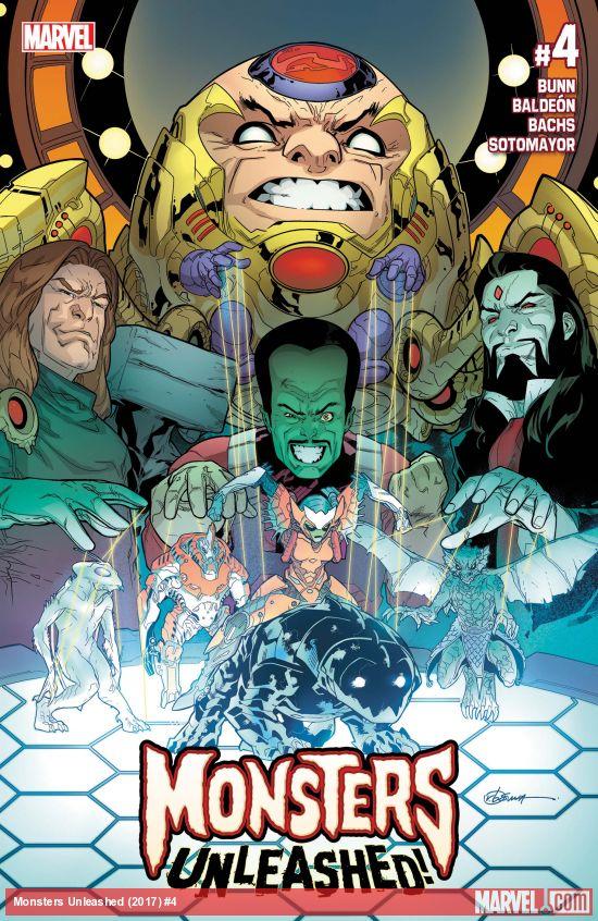 Marvel Comics - Monsters Unleashed (2017) #4 (oferta capa protetora)