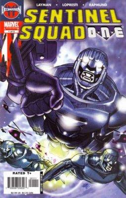 Marvel Comics - SENTINEL SQUAD ONE #1 (oferta capa protetora)