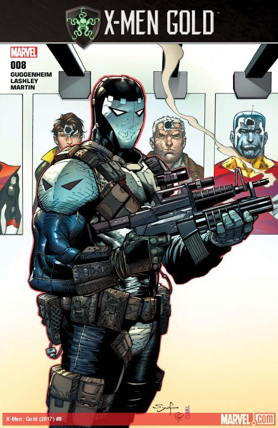 Marvel Comics - X-Men: Gold (2017) #8 (oferta capa protetora)