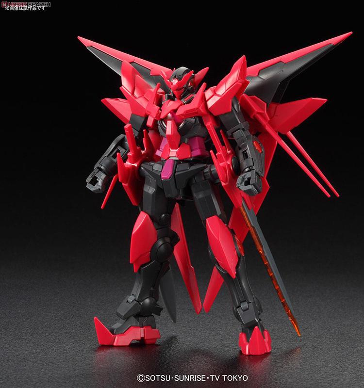HG High Grade Model Kit Gundam EXIA DARK MATTER 1/144