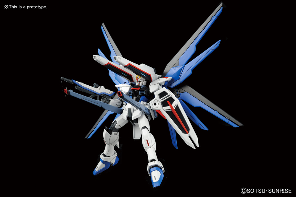 HG High Grade Model Kit Gundam Freedom 1/144