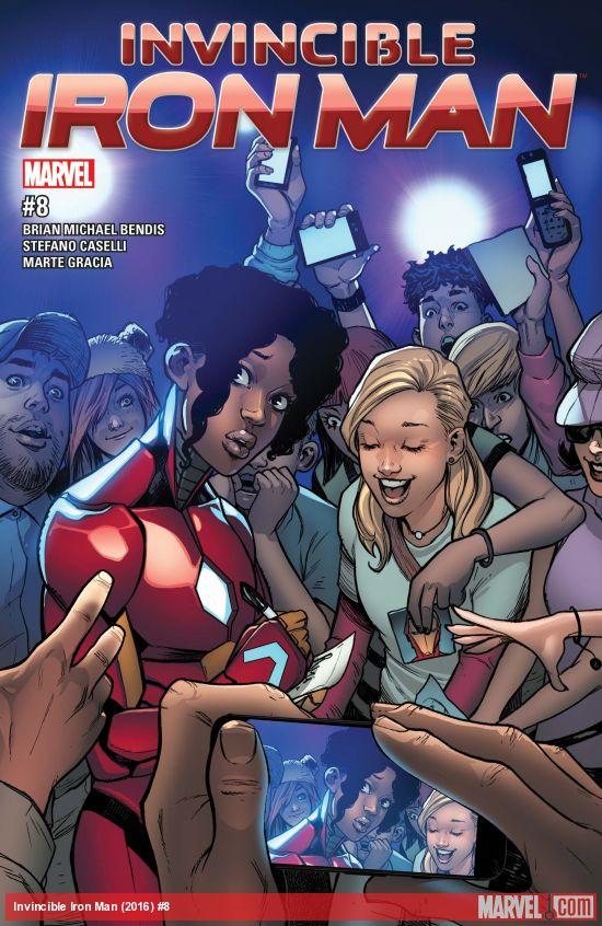 Marvel Comics - Read Now Invincible Iron Man (2016 (oferta capa protetora)