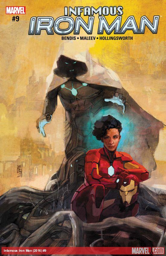 Marvel Comics - Infamous Iron Man (2016) #9 (oferta capa protetora)