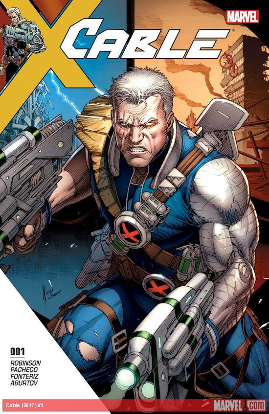 Marvel Comics - Cable (2017) #1 (oferta capa protetora)