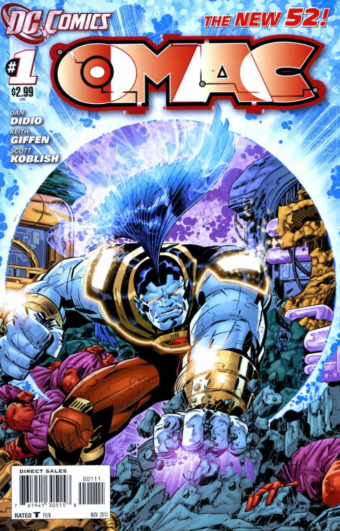 DC Comics - O.M.A.C. #1 (oferta capa protetora)