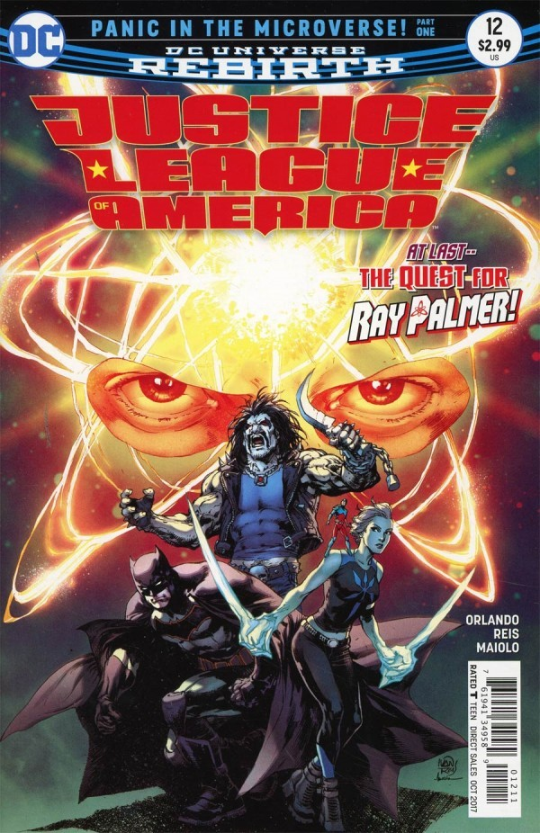 DC Comics - Justice League Of America #12 (oferta capa protetora)