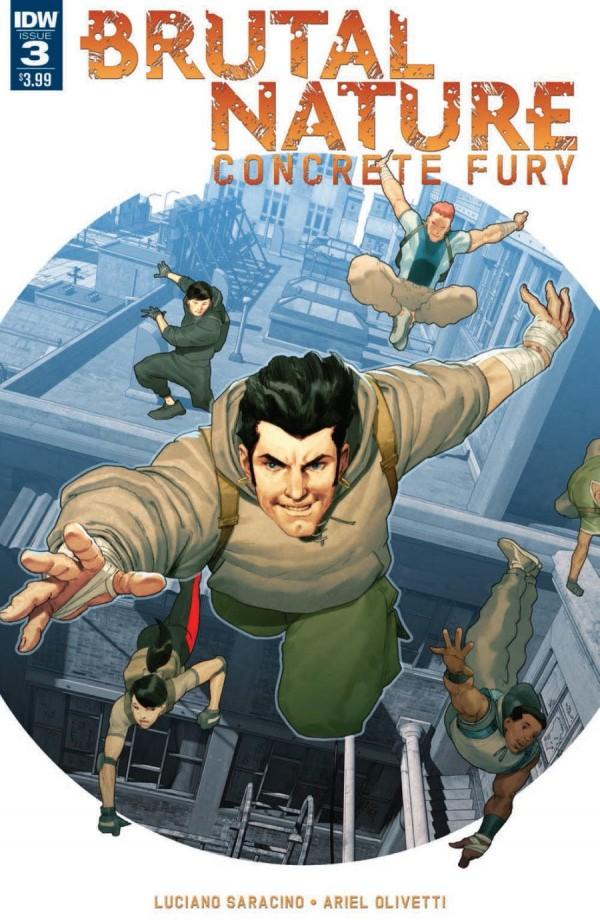 IDW Comics - Brutal Nature: Concrete Fury #3 (Oferta Capa Protectora)
