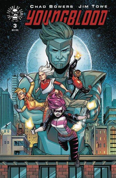 Image Comics - Youngblood #3 (Oferta de Capa Protectora)