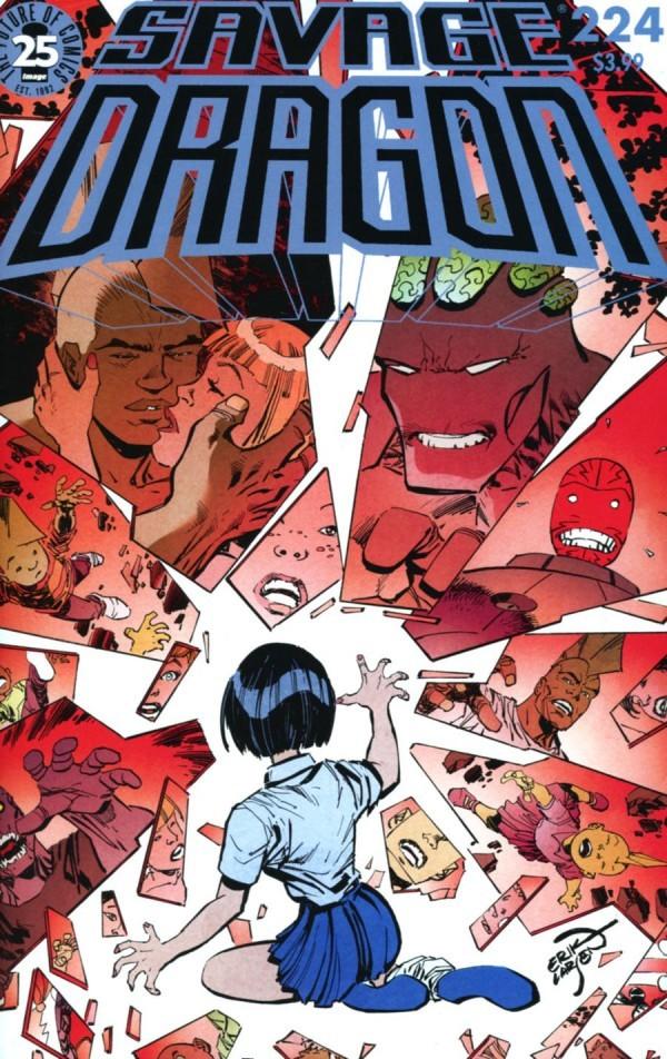 Image Comics - Savage Dragon #224 (Oferta de Capa Protectora)