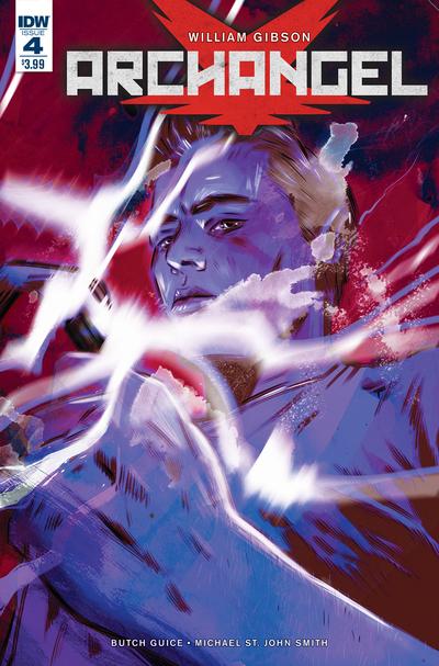 IDW Comics - ARCHANGEL #4 (Oferta Capa Protectora)