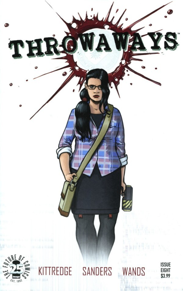 Image Comics - Throwaways #8 (Oferta de Capa Protectora)