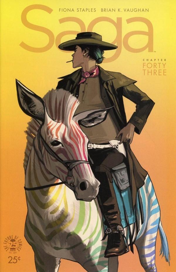 Image Comics - Saga #43 (Oferta de Capa Protectora)