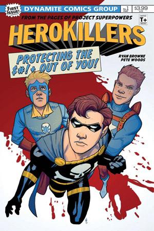 Dynamite Comics - HERO KILLERS #1 (Oferta Capa Protectora)