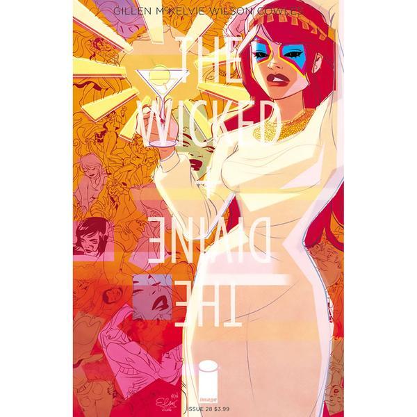 Image Comics - The Wicked + The Divine #28 (Oferta de Capa Protectora)
