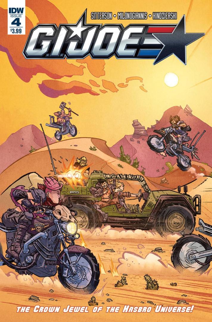 IDW Comics - G.I. Joe #4 (Oferta Capa Protectora)