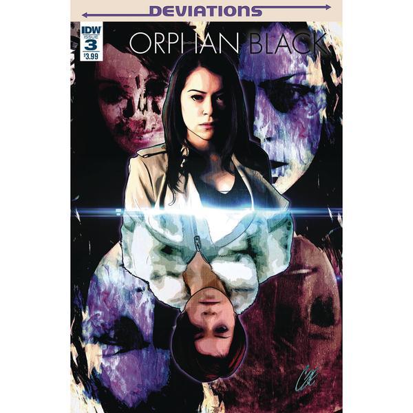 IDW Comics - Orphan Black: Deviations #3 (Oferta Capa Protectora)