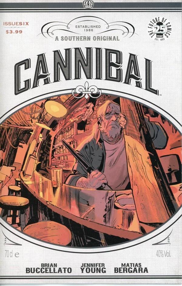 Image Comics - Cannibal #6 (Oferta de Capa Protectora)