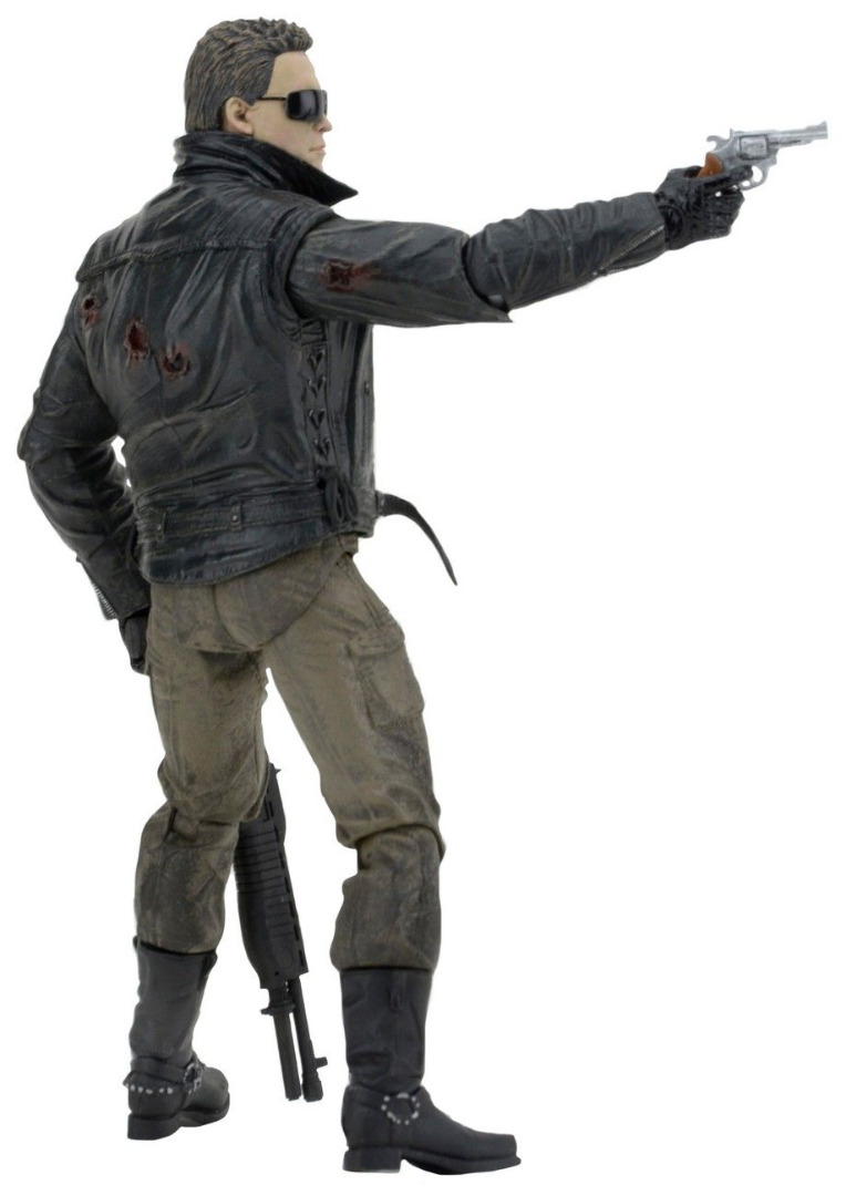 Action Figure Terminator T-800 Police Station Assault (Motorcycle Jacket)