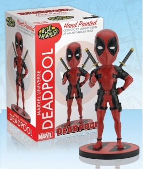 Marvel Universe - Deadpool Classic Red-Black Headknocker 20 cm