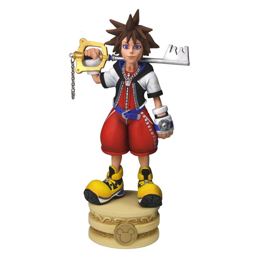 Kingdom Hearts Head Knocker Sora 15 cm