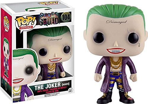 Funko POP! Heroes Suicide Squad - Joker Boxer Limited Edition 10 cm