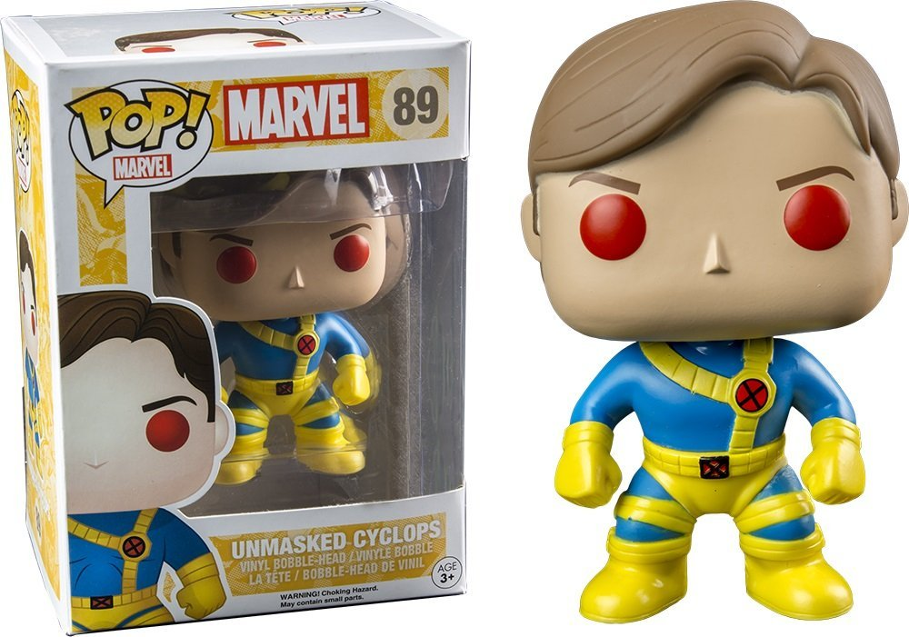 Funko! POP! Marvel X-Men - Cyclops Unmasked Limited Edition 10 cm