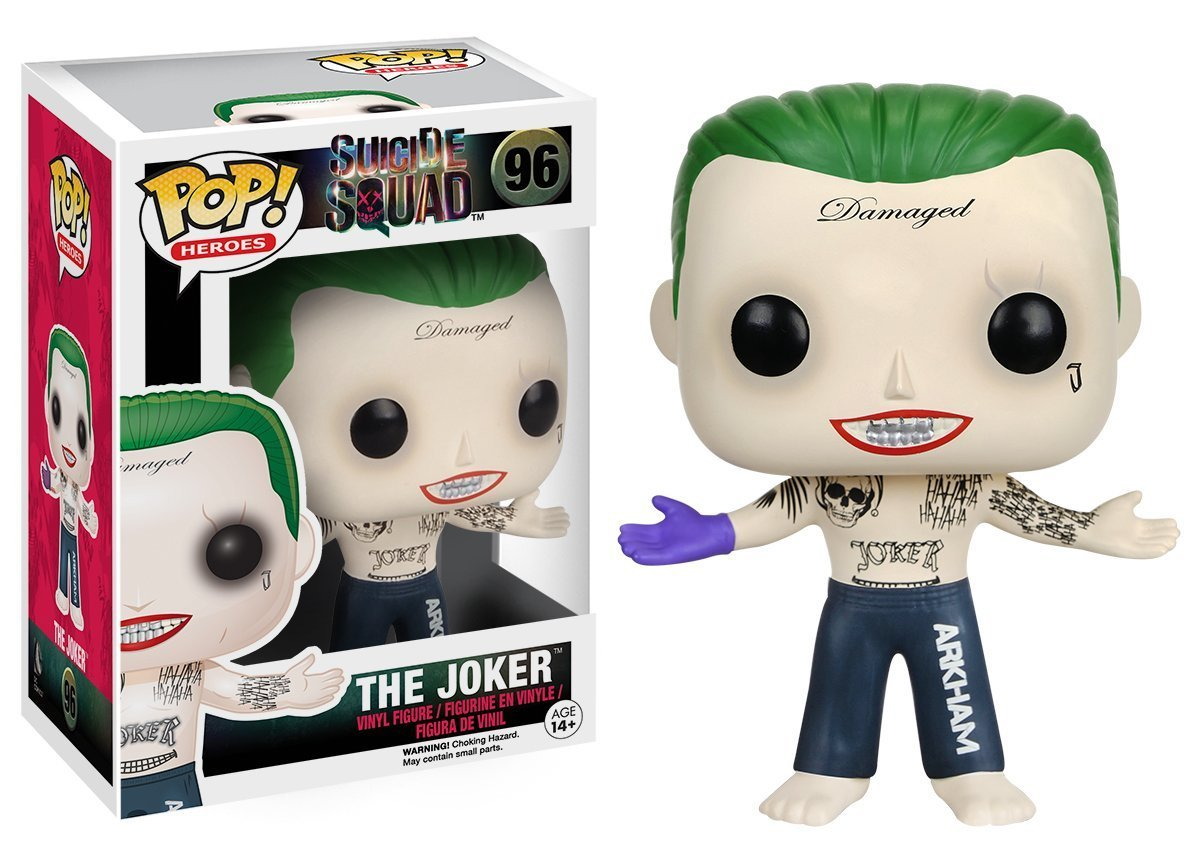 Funko POP! Movies Suicide Squad - Joker Vinyl Figure 10 cm