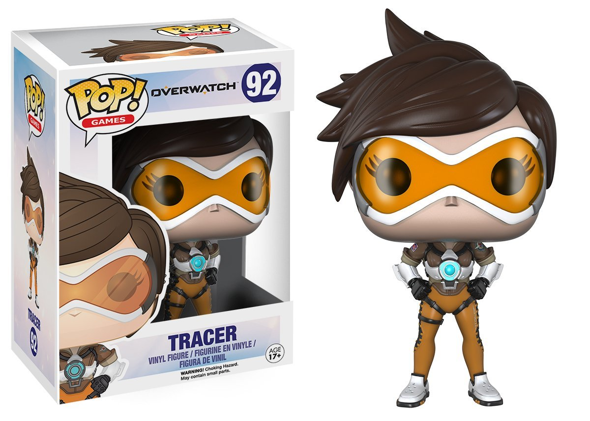 Funko POP! Games - Overwatch: Tracer - Vinyl Figure 10 cm