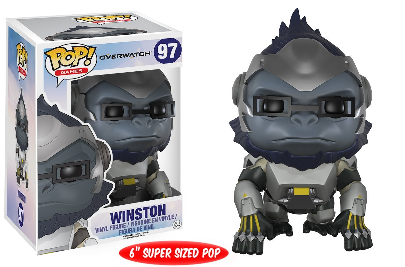 Funko POP! Games - Overwatch: Winston - Vinyl Figure 15 cm