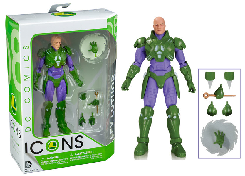 DC Comics Icons Action Figure Lex Luthor (Forever Evil) 17 cm