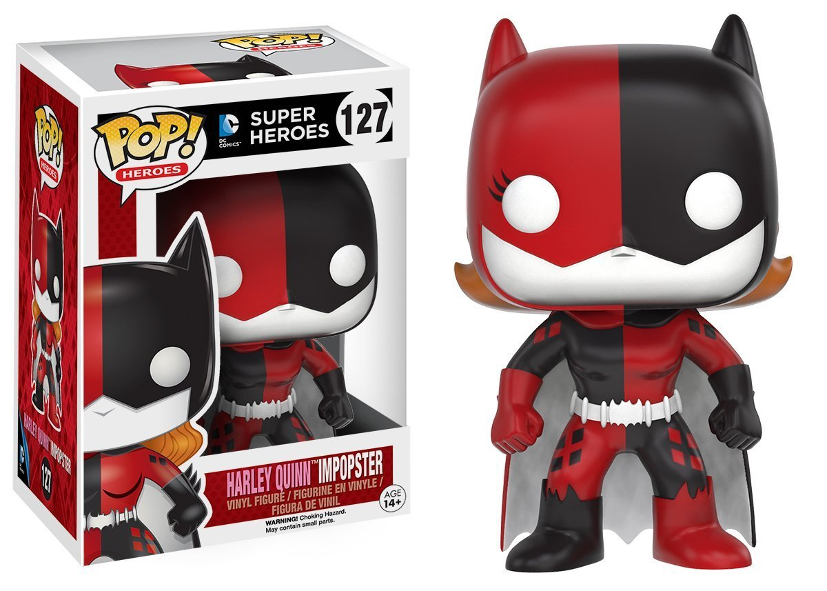 Funko POP! Heroes ImPOPsters Batgirl as Harley Quinn Impopster 10 cm
