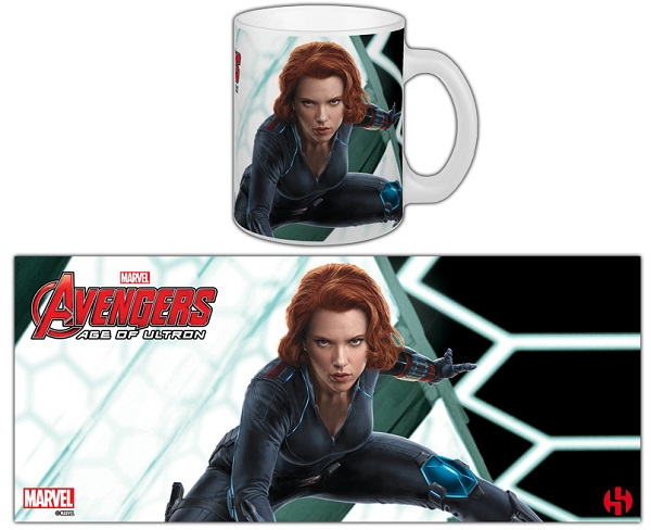 Caneca Avengers Age of Ultron BLACK WIDOW