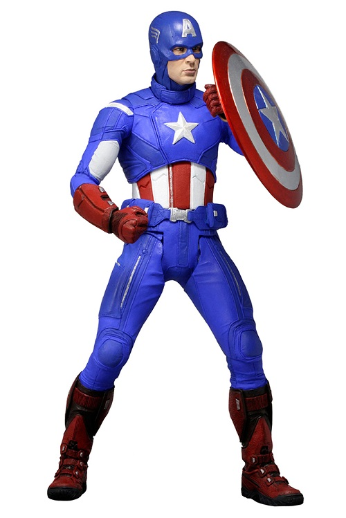 Action Figure Marvel Avengers Captain America 1/4 Limited Edition 46 cm